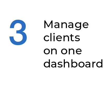 Step 3 Manage Clients On One Dashboard